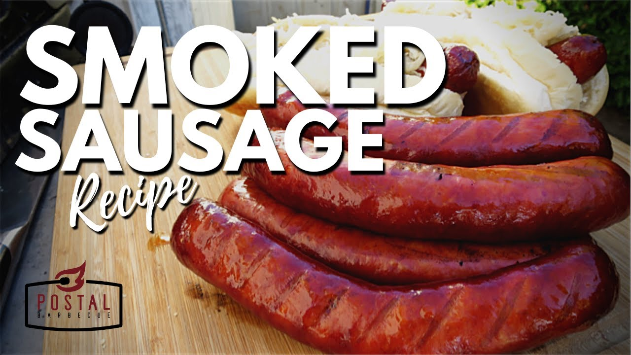 Smoked Italian Sausage How To Smoke Italian Sausages On The Grill Recipe