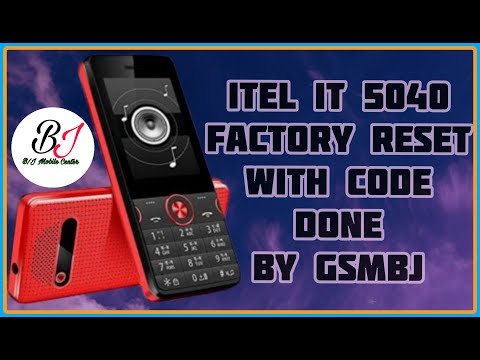 How to Factory Reset itel it2090 using default code