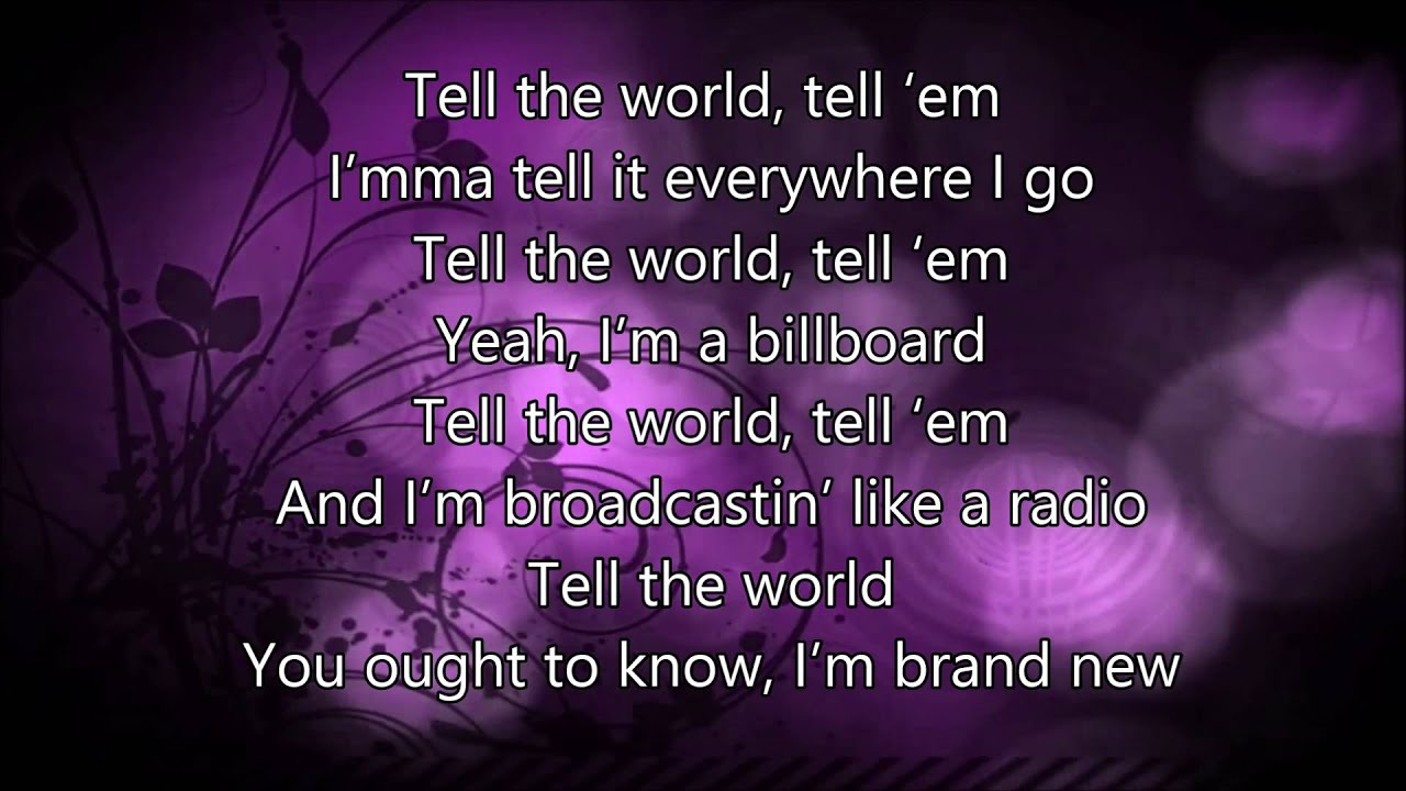 Tell The World by Lecrae with lyrics - YouTube