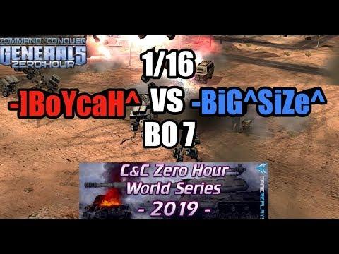 -]BoYcaH^ Vs -BiG^SiZe^ | WORLD SERIES 2019 [Generals Zero Hour] 1/16