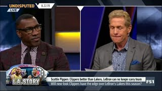 Undisputed | Scottie Pippen: Clippers better than Lakers, LeBron can no longer carry team
