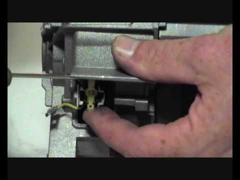 How To Replace And Fit Washing Machine Carbon Brushes On