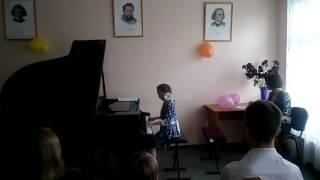 Чайковский П.И -Танец маленьких лебедей. Добровольская Катя.