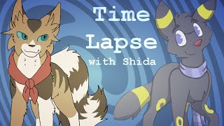 Time Lapse | Collab with ThatScruffyDuckling