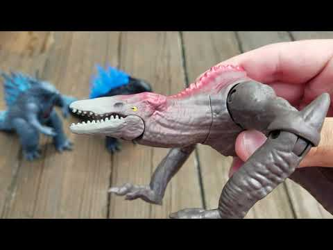 Godzilla VS Kong Battle Damage Skullcrawler Playmates Toys REVIEW