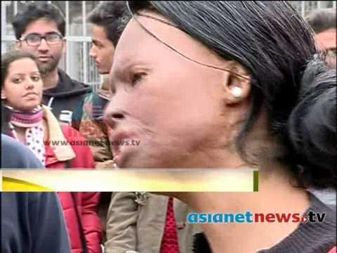 US honours Indian acid attack victim  Laxmi