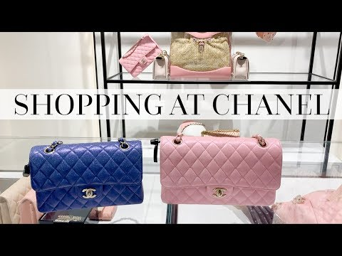 SHOPPING THE NEW CHANEL COLLECTION & UNBOXING!