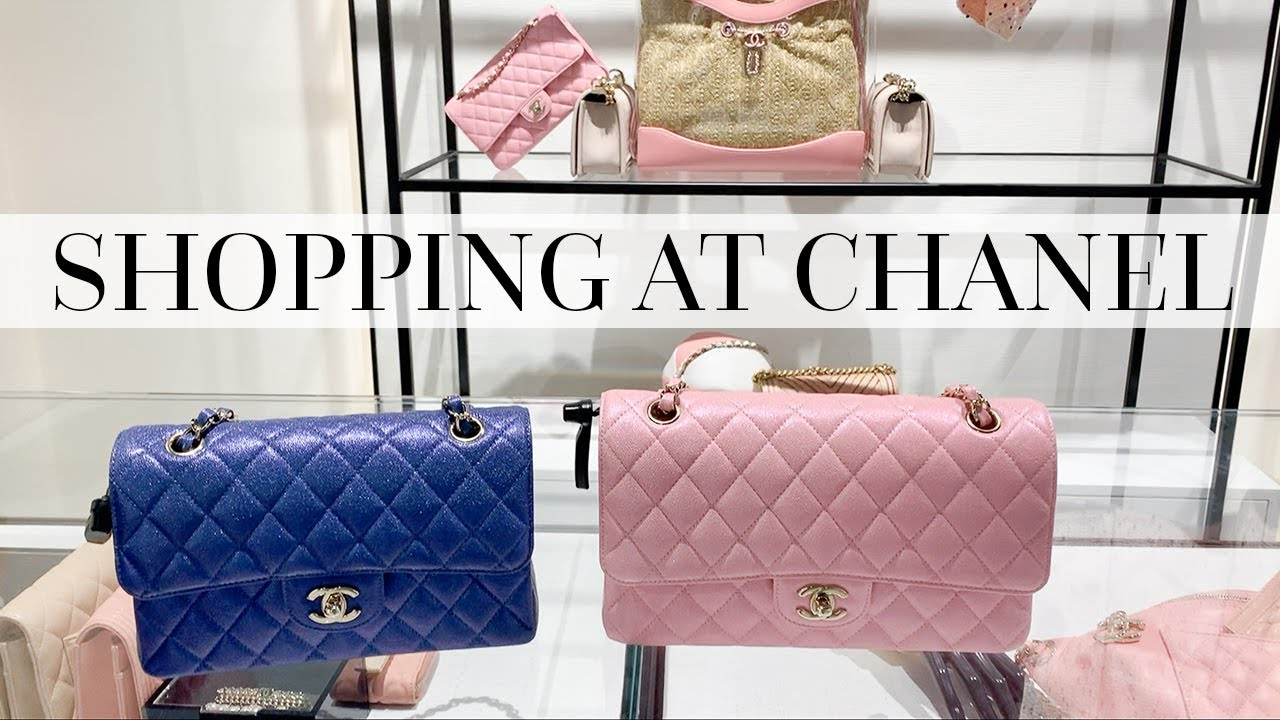 39759543ecc9aa SHOPPING THE NEW CHANEL COLLECTION & UNBOXING! - YouTube
