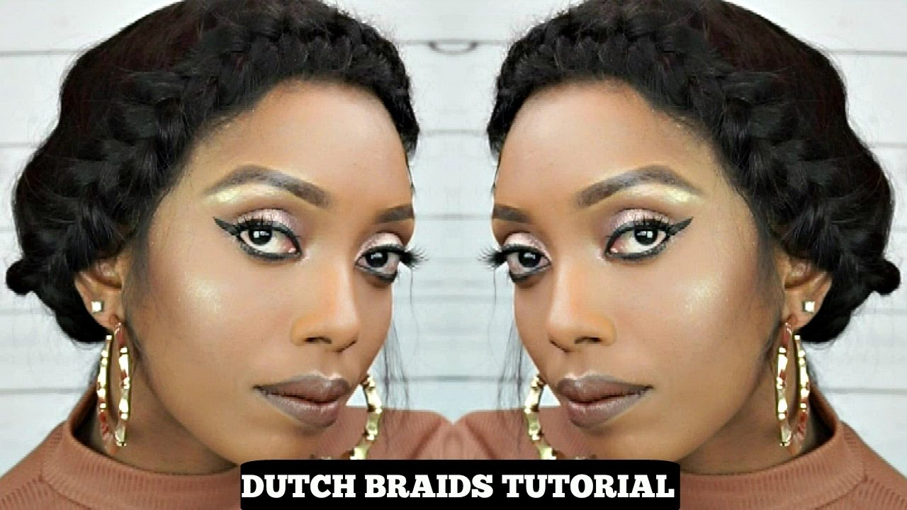 French Braids Cornrow Tutorial On A 360 Lace Wig Ingbuy  Hair