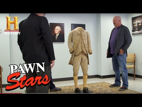 Pawn Stars: George Washington's 3-Piece Suit (Season 15) | History thumbnail