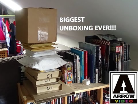 Download BIGGEST UNBOXING EVER!!!! Blu-rays, DVDs & a Llama!