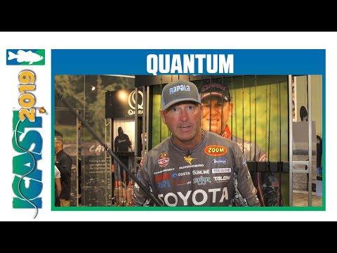 Quantum KVD Smoke S3 Rods With Gerald Swindle | ICast 2019