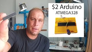 Gambar cover $2 Arduino The ATMEGA328 as a stand alone  Easy, cheap and very small  A complete guide