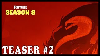 """FORTNITE NEW SEASON 8 TEASER # 2 """"3 DAYS LEFT"""" - FATE and OUROBOROS ARE BACK 