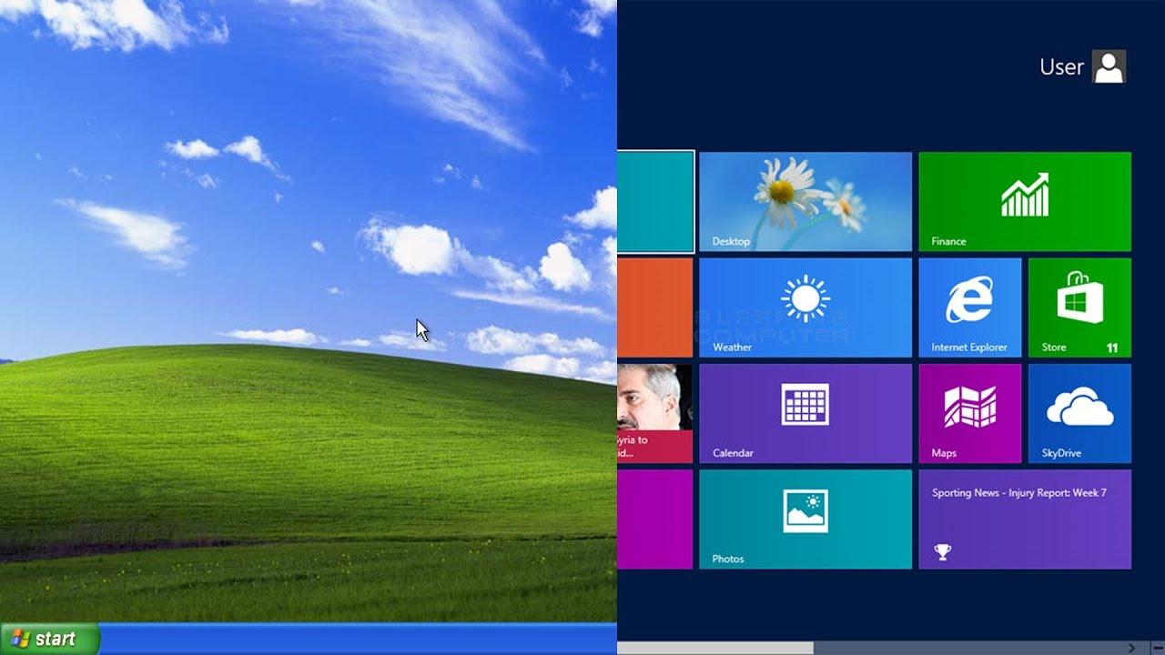 Upgrade Windows XP To Windows 8 [Tutorial] - YouTube