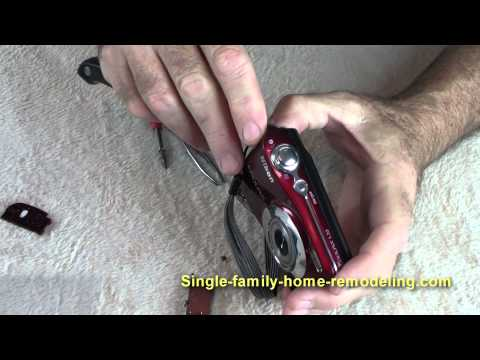 Nikon Coolpix L22 battery door replacement
