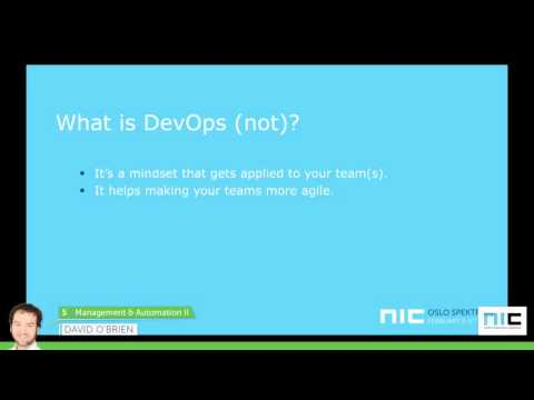 NIC 5th Anniversary - Using Ansible for your Windows Configuration Management