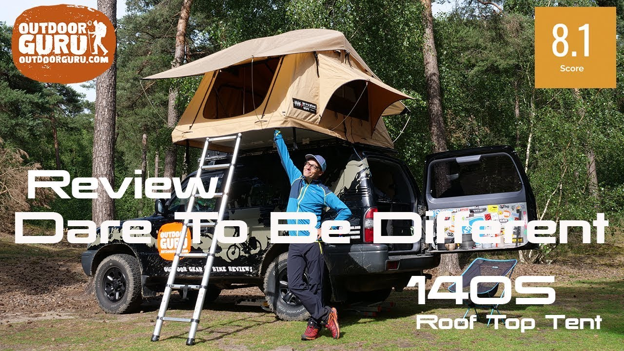 Dare To Be Different 140 S Roof Top Tent Review - Outdoorguru