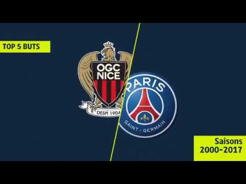 Top 5 buts OGC Nice / Paris Saint-Germain - OGCN/PSG [LIGUE 1 LEGENDS]