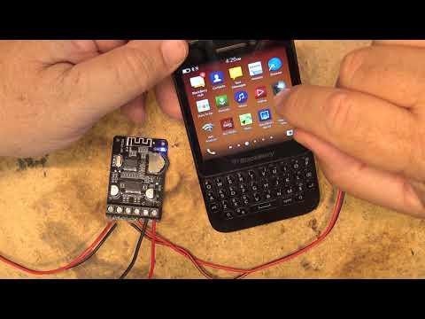XY P15W Bluetooth Power Amp Board