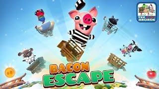 Bacon Escape - This Little Piggy is on the Ride of its Life (iOSiPad Gameplay)