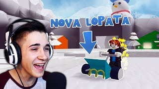 WE BOUGHT THE BEST SHOVEL! (ROBLOX SNOW ADVENTURE) ep. 2
