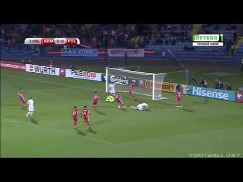 Armenia vs Polska 1-6 /Skrót Meczu\ /Wszystkie Gole\