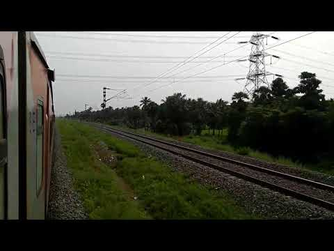 22838 Dharti Aaba Express burns the rails and says hello to SBC DD