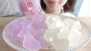 【咀嚼音】ぶどう氷を食べる【ASMR】琥珀糖/KOHAKUTOU