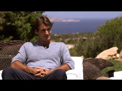 Roger Federer: Exclusive interview with tennis superstar