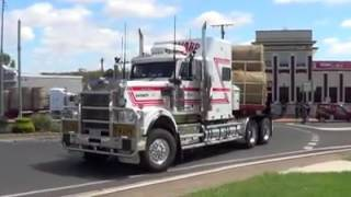 Australian Road Train Hay Runners