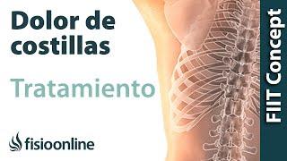 Inflamación muscular intercostal dolor de