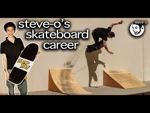 The Untold Story Of SteveO's Skateboarding Career | SteveO