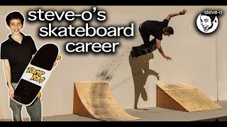 The Untold Story Of Steve-O's Skateboarding Career | Steve-O