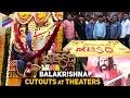 Gautamiputra Satakarni Balakrishna Cutouts at Theaters | Balakrishna