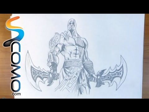 Dibujar A Kratos De God Of War Youtube
