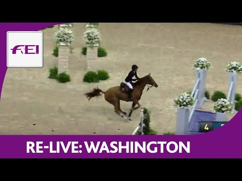 Re-Live | Washington | Longines FEI World Cup™ Jumping 2016/17 NAL | Welcome Stake