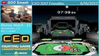 Baixar MachoManSam (Puff) vs RCS | cookiE (Sheik, Fox) - Money Match @ CEO 2017