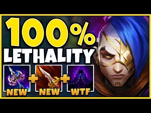 *100% LETHALITY* THE GREATEST ONE-SHOTS EVER DONE (I BROKE KAYN) - League Of Legends