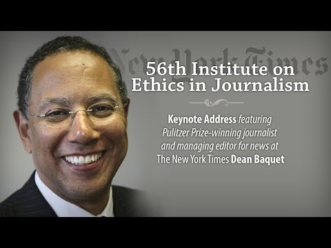 """""""Why the Big News Organizations and Their Anonymous Sources Matter"""" by Dean Baquet"""