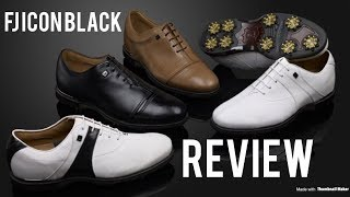 FootJoy Icon Black Golf Shoes Review! A Proper Premium Shoe!