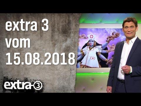 Extra 3 vom 15.08.2018 | extra 3 | NDR