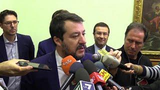 Sardine, insulti a assessora. Salvini: ''Offesa se accostata a Pd?Fossi Zingaretti mi preoccuperei''