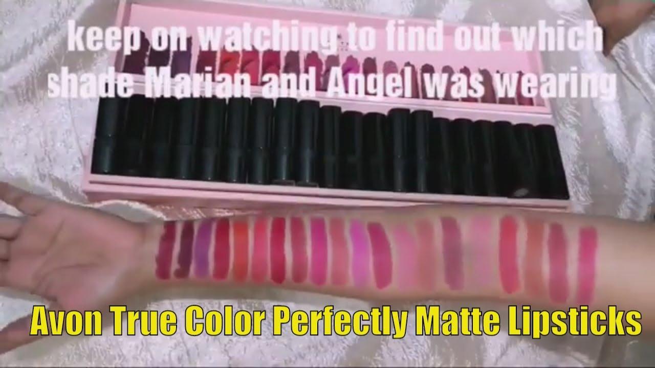 Avon Perfectly Matte Lipsticks Pagebdcom