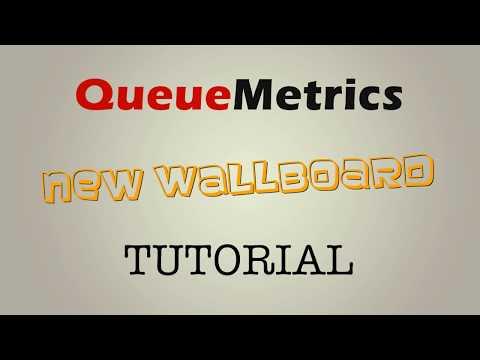 QueueMetrics Call Center Management Wallboard Tutorial