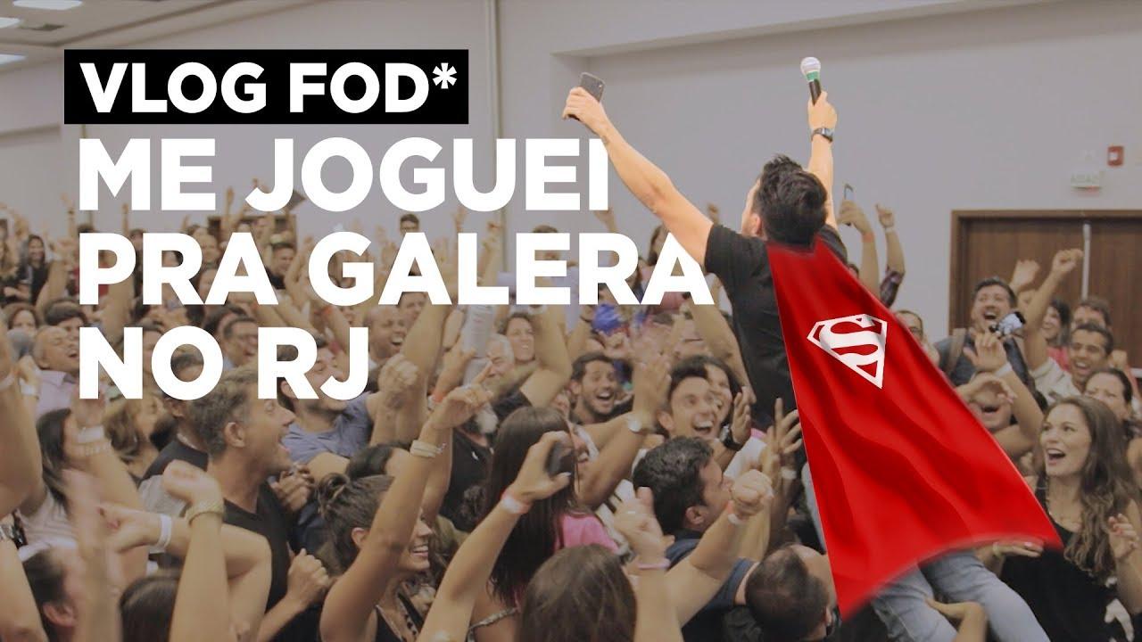 Vlog Fod* - Dei uma de Superman no RIO DE JANEIRO | Caio Carneiro