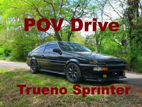 POV AE86: My 1985 Trueno Sprinter GT-APEX