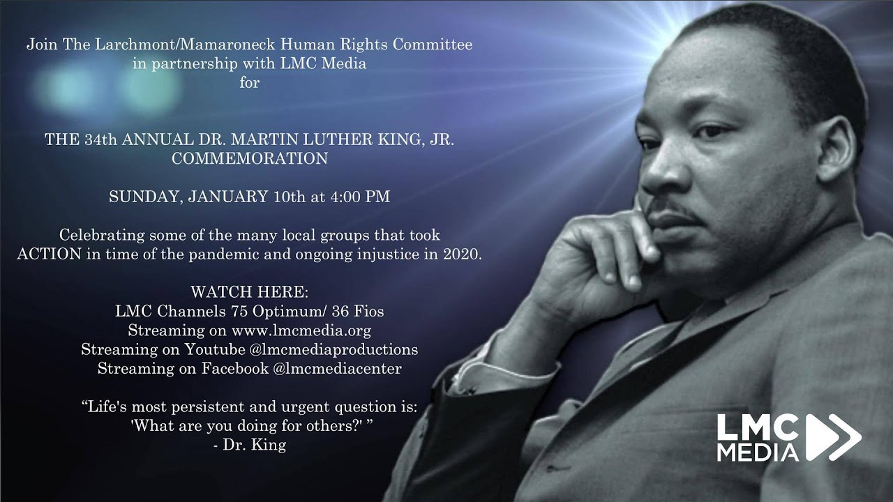 Martin Luther King Jr. Day celebration to feature host of virtual ...