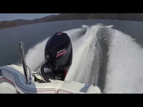 Mercury Pro XS V8 Outboard - WOT Smooth Water