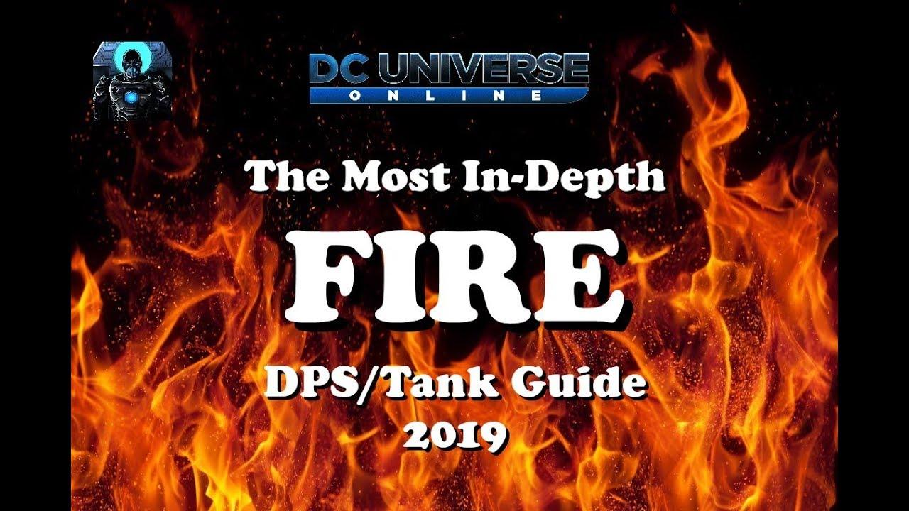 Dcuo Best Tank Power 2020 DCUO: In Depth Fire DPS/Tank Guide 2019   YouTube